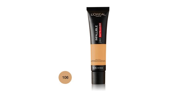 L'Oréal Paris Infallible 24H Matte Cover 35ml #106