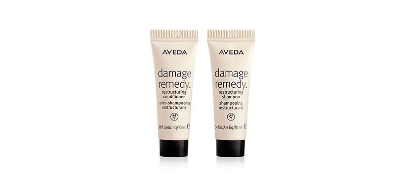 Aveda Damage Remedy Restructuring Shampoo+Conditioner (10mlx2pcs)