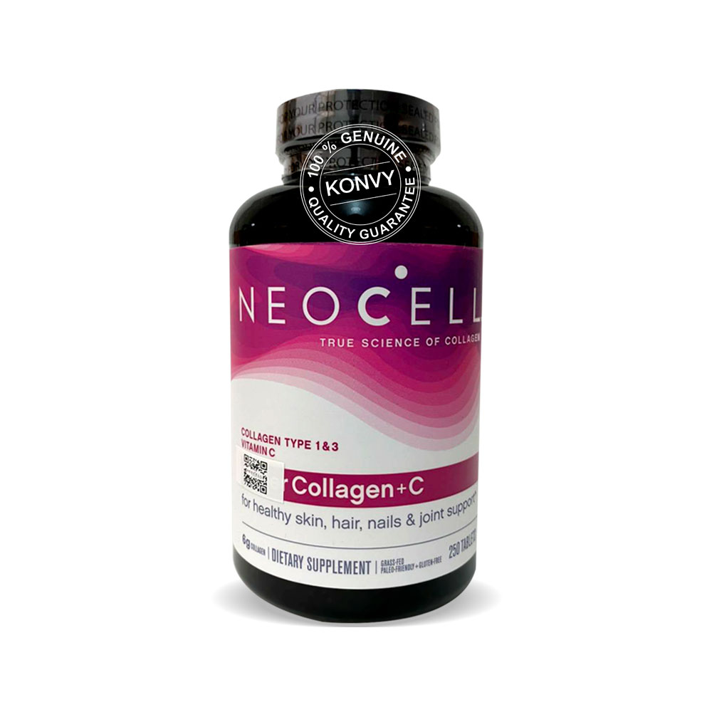 NeoCell Super Collagen+C Type 1&3 250 Tablets