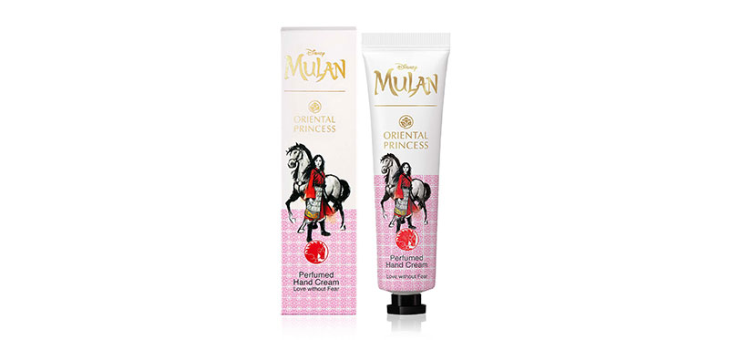 Oriental Princess Mulan Perfumed Hand Cream Love Without Fear 35g