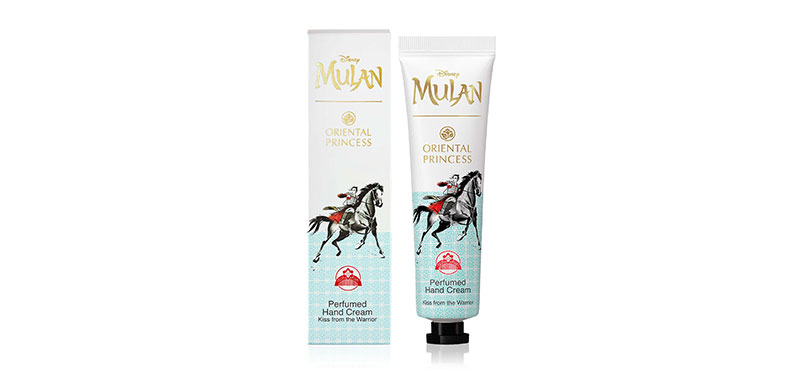 Oriental Princess Mulan Perfumed Hand Cream Love Kiss from the Warrior 35g