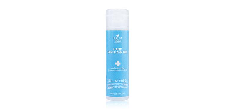 เจลแอลกอฮอล์ Reunrom Hand Sanitizer Gel 50ml