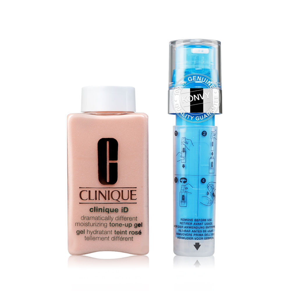 Clinique ID Dramatically Different Moisturizing Tone-Up Gel #Uneven Skin Texture