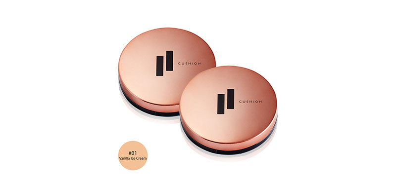 [แพ็คคู่] FIIT Everyday Cushion Healthy Glow SPF50+/PA+++ #01 Vanilla Ice Cream (13g x 2pcs)