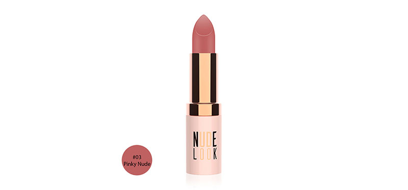 Golden Rose Nude Look Perfect Matte Lipstick 4.2g #03 Pinky Nude