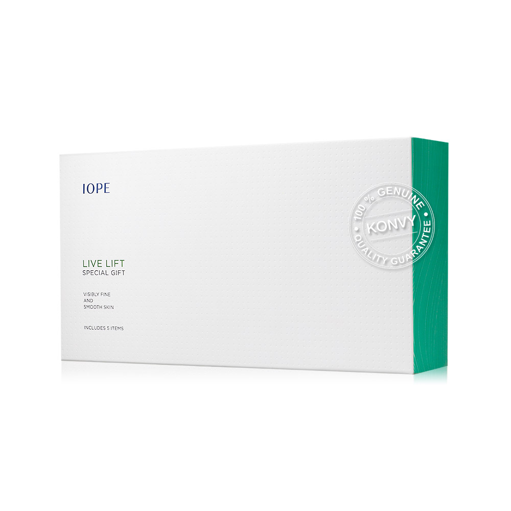 IOPE Live Lift Special Kit (5Items)