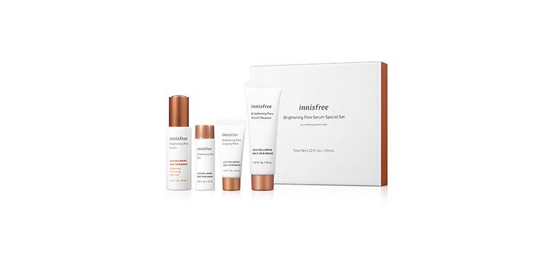Innisfree Brightening Pore Serum Special Set