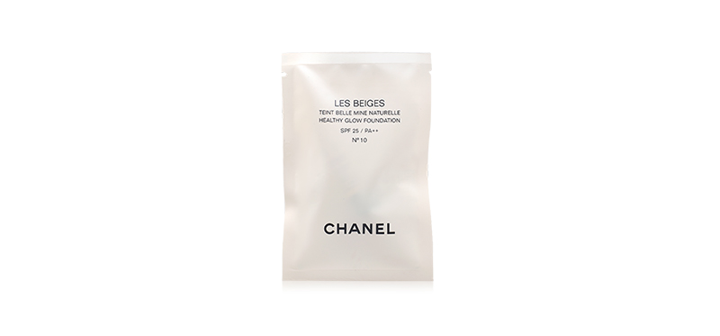 Chanel Les Beiges Healthy Glow Foundation SPF 25 / PA++ 2.5ml #N10