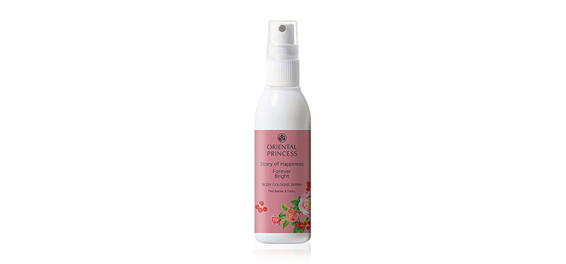 [Free Gift] Oriental Princess Story Of Happiness Forever Bright Body Cologne Spray 100ml