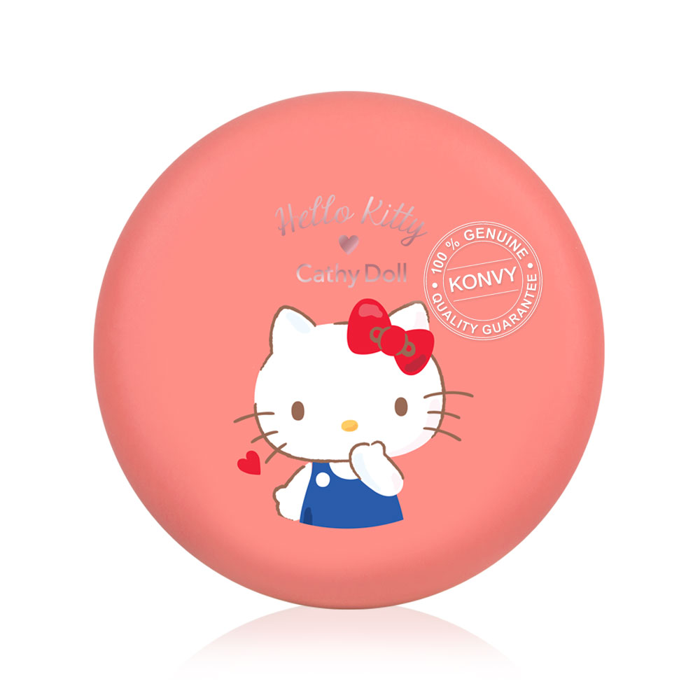 Cathy Doll Hello Kitty Cotton Matte Blusher 6.5g #03 Choco Apricot