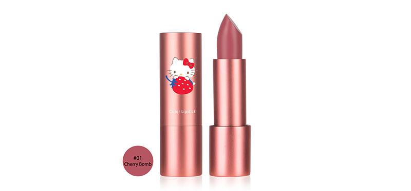 Cathy Doll Hello Kitty Color Lipstick 3.5g #01 Cherry Bomb