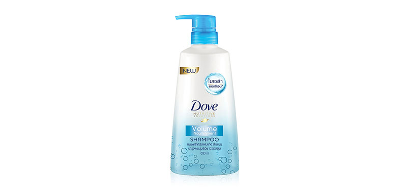 Dove Shampoo Volume Nourishment Light Blue 630ml