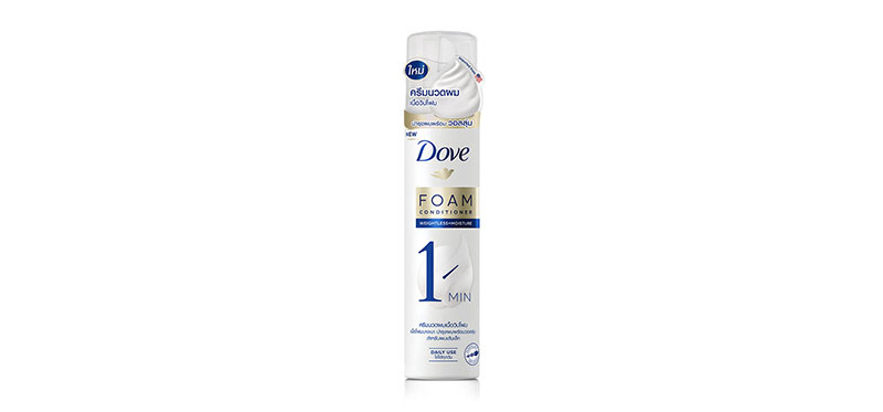 Dove Weightless + Moisture Foam Conditioner 195ml