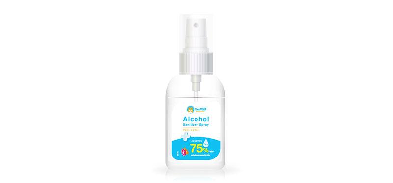 สเปรย์แอลกอฮอล์ Kanda Timemild Alcohol Sanitizer Spray 50ml