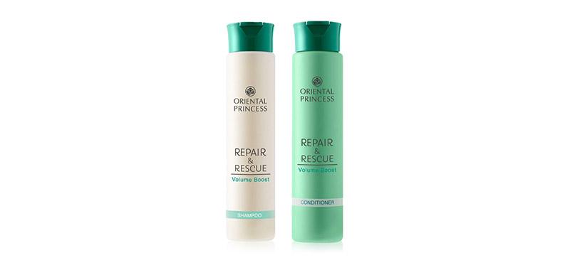 Oriental Princess Set 2 Itmes Repair & Rescue Volume Boost Shampoo 230g + Conditioner 230g