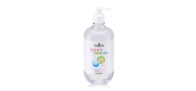 เจลแอลกอฮอล์ ODBO Soft Hand Gel 500ml