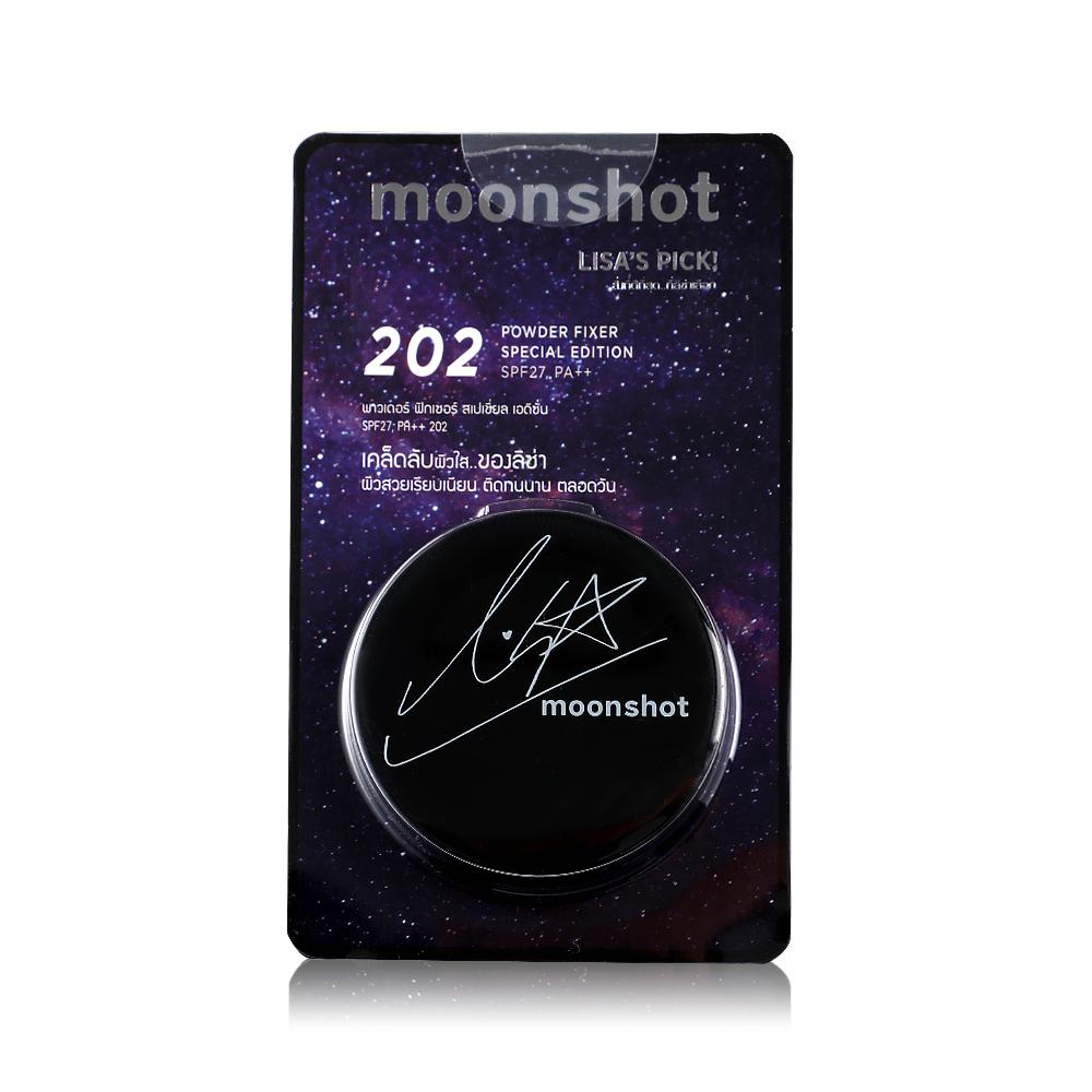 Moonshot Powder Fixer Special Edition SPF27/PA++ 5g #202