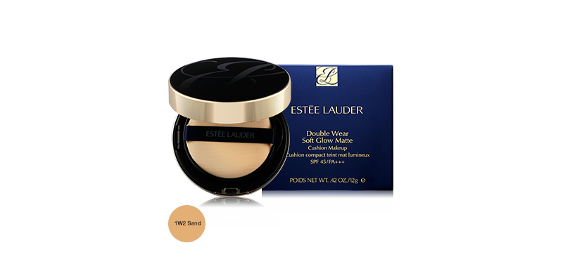 Estee Lauder Double Wear Soft Glow Matte Cushion Makeup SPF45/ PA+++ 12g #1W2 Sand