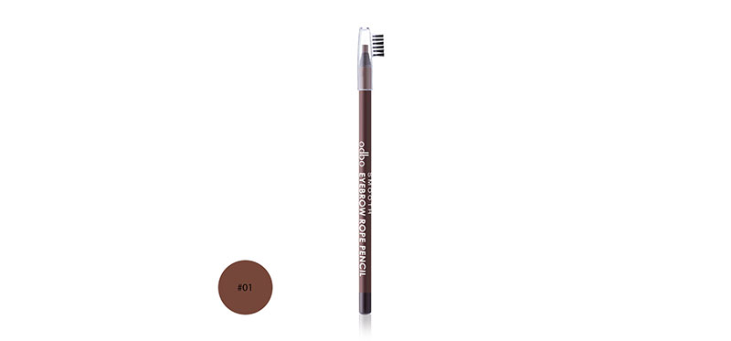 ODBO Smooth Eyebrow Rope Pencil 3g OD750 #01