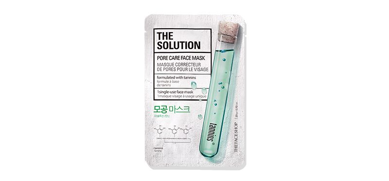 The Face Shop The Solution Pore Care Face Mask 20g
