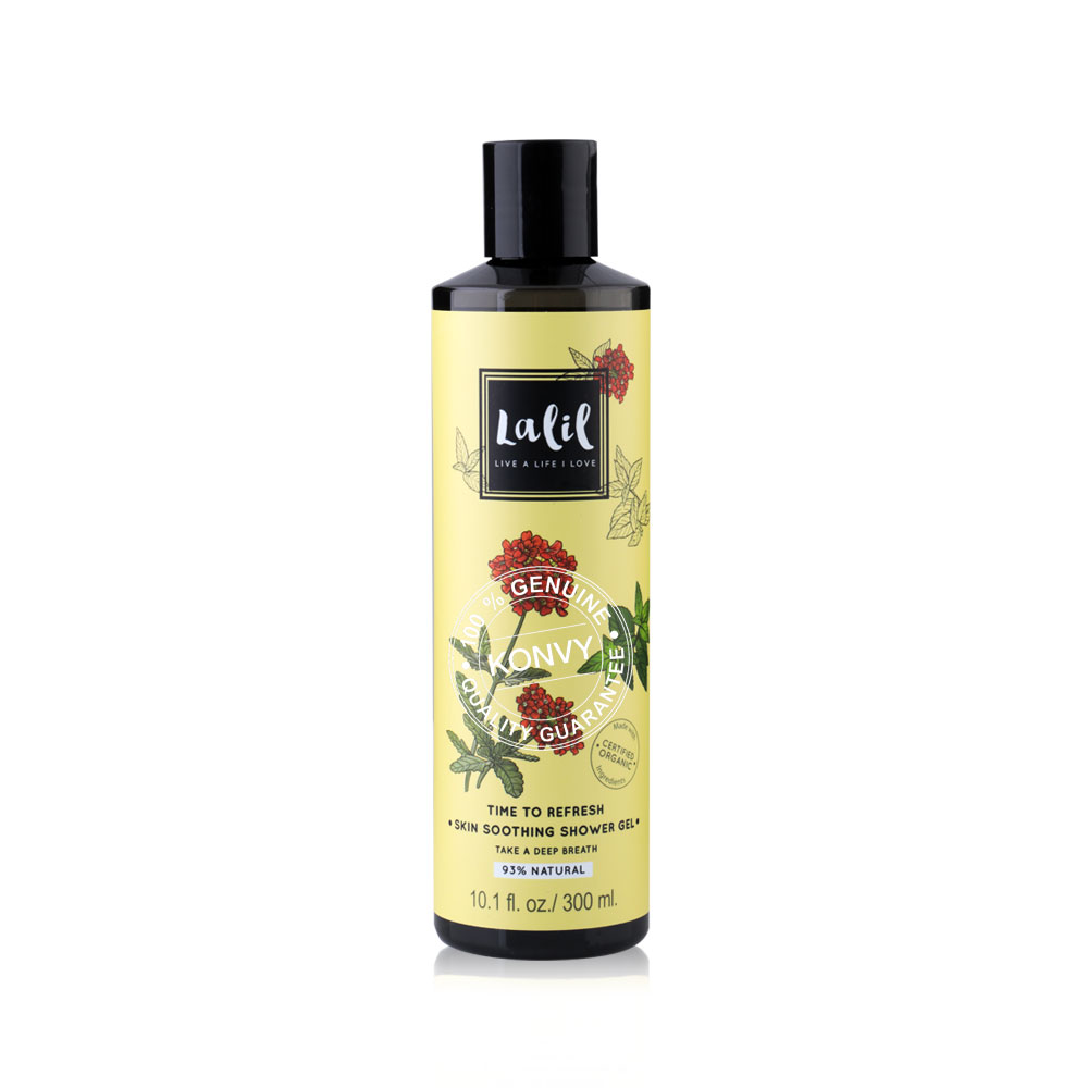 Lalil Set 2 Items Time To Refresh Skin Soothing Shower Gel 300ml + Restorative Body Lotion 200g