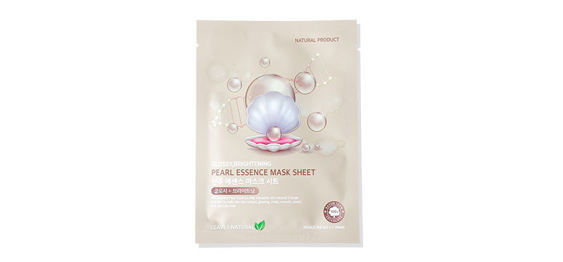 Leaves Natural Pearl Essence Mask Sheet 25ml
