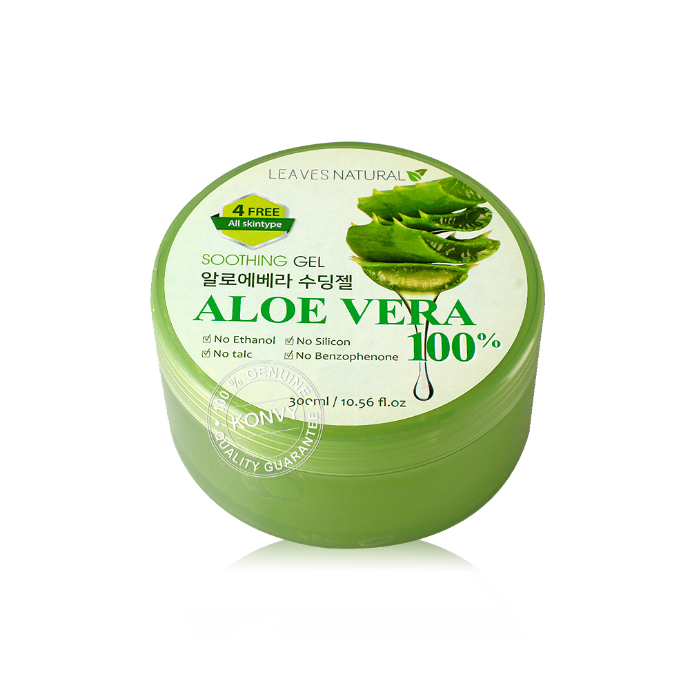 Leaves Natural Soothing Gel Aloe Vera 300ml