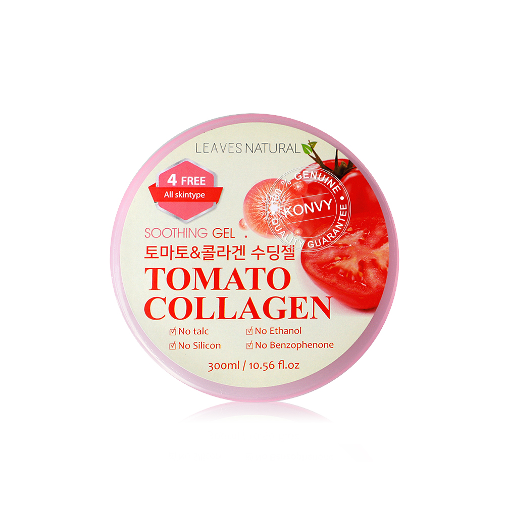 Leaves Natural Soothing Gel Tomato Collagen 300ml