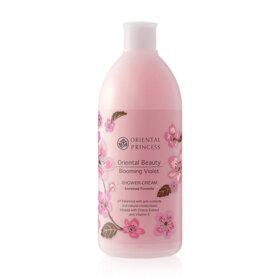 ฟรี! Oriental Princess Beauty Blooming Violet Shower Cream 400ml  (1 ชิ้น / 1 ออเดอร์) เมื่อช้อปสินค้า  Oriental Princess ที่ร่วมรายการ อย่างน้อย 1 ชิ้น (ของแถมจำนวนจำกัด)