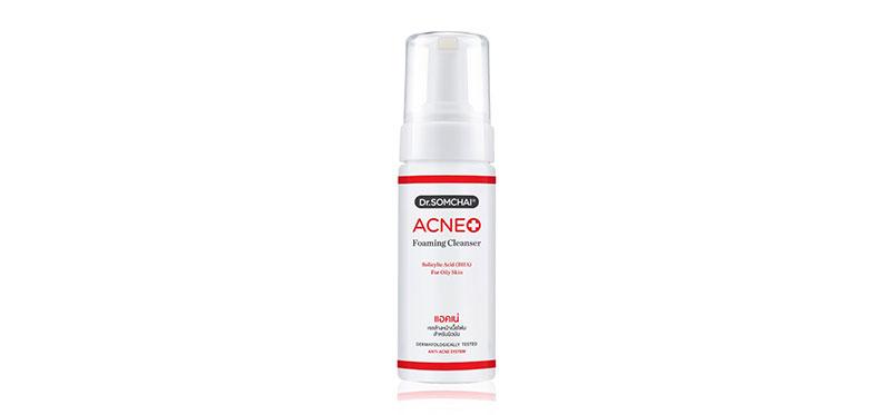 Dr.Somchai Acne Foaming Cleanser Salicylic Acid (BHA) For Oily Skin 150ml