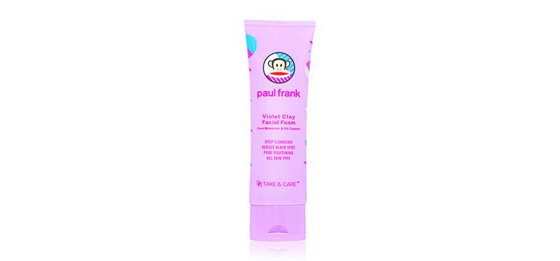 Paul Frank Violet Clay Facial Foam 75ml
