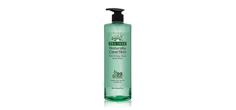 Tea Tree Naturally Clear Skin Mild & Deep Clean Body Wash 500ml