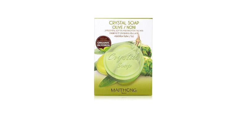 Maithong Crystal Soap Olive Noni 70g
