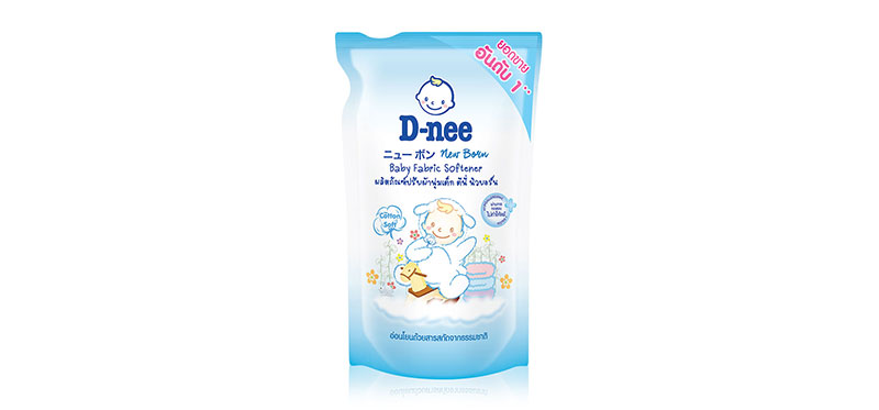 D-nee Baby Fabric Softener Cotton Soft 600ml