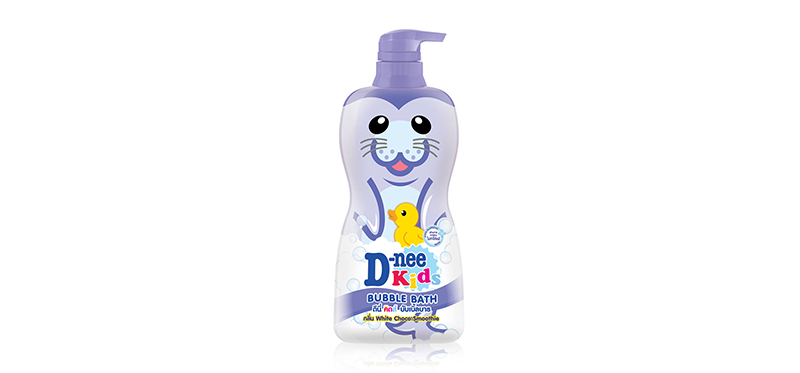 D-nee Kids Bubble Bath White Choco Smoothie 400ml #Violet