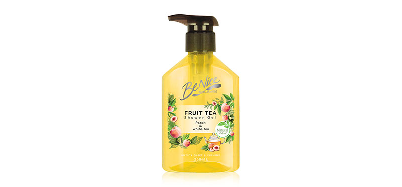 BeNice Fruit Tea Shower Gel Peach & White Tea 250ml