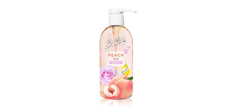 BeNice Love Me Peach Shower Gel Peach Love Rosy 450ml