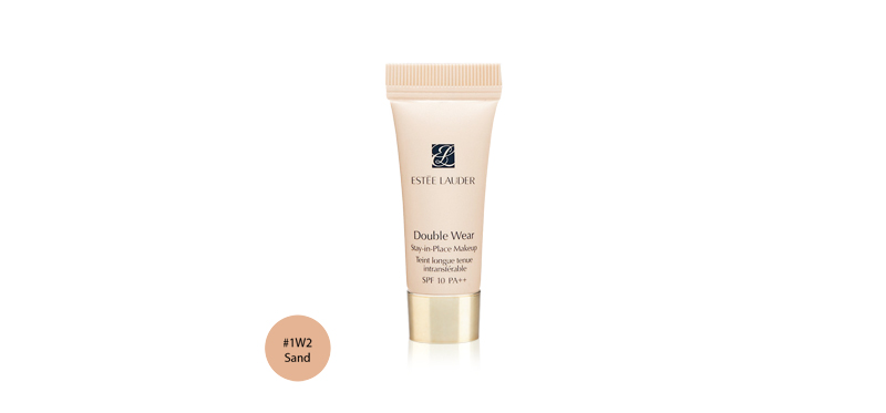 Estee Lauder Double Wear Stay-in-Place Makeup Tein longue tenue intransterable SPF10/PA++ 5ml #1W2 Sand