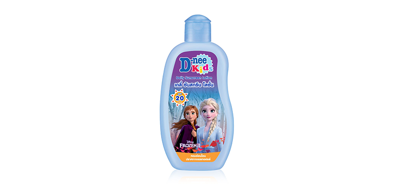 D-nee Kids Daily Sunscreen Lotion SPF20/PA+++ [Frozen Edition] 200ml