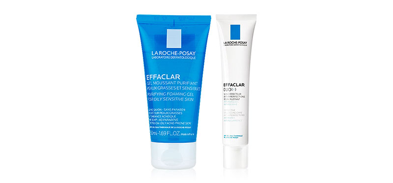 La Roche Posay Acne Set [Effaclar Duo+ 40ml + Effaclar Cleansing Gel 50ml]