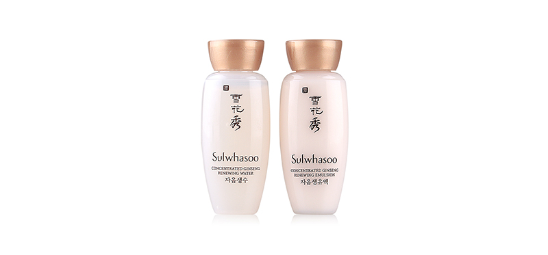 Sulwhasoo Concentrated Ginseng Renewing Emulsion&Water (15mlx2pcs)
