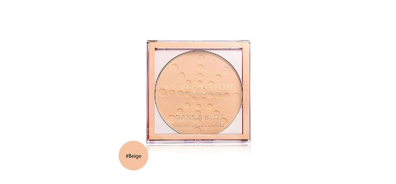 Makeup Revolution Powder Bake & Blot 5.5g #Beige