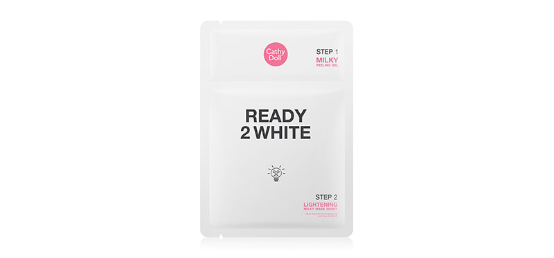Cathy Doll Ready 2 White Lightening Milky Mask Sheet 3.5ml + 25g