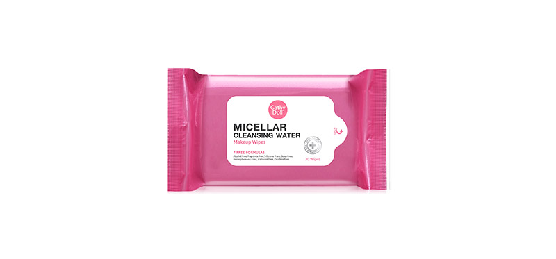 Cathy Doll Micellar Cleansing Water Makeup Wipes 30 Sheets