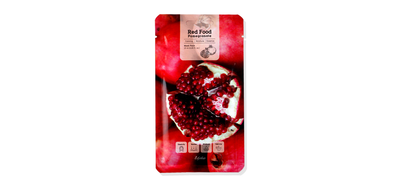 Esfolio Red Food Pomegranate Mask Pack 25ml