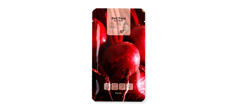 Esfolio Red Food Red Beet Mask Pack 25ml