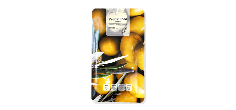Esfolio Yellow Food Olive Mask Pack 25ml