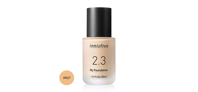 Innisfree My Foundation 2.3 30ml #N27