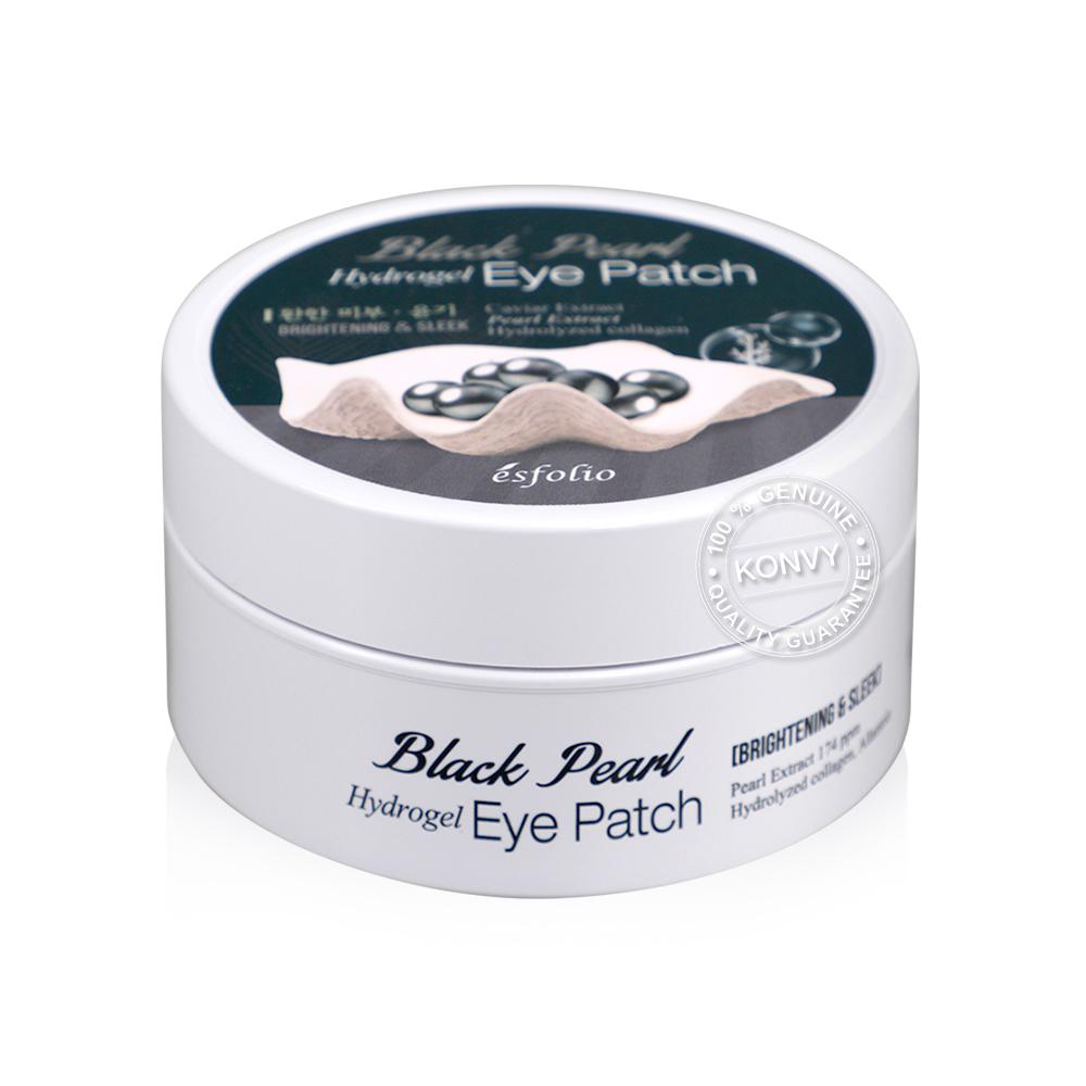 Esfolio Black Pearl Hydrogel Eye Patch 60 Sheets