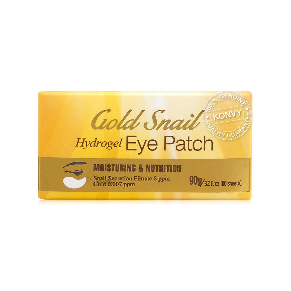 Esfolio Gold Snail Hydrogel Eye Patch 60 Sheets